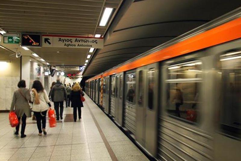 Χωρίς Μετρό από τις 21:00 μέχρι την λήξη της βάρδιας την Πέμπτη
