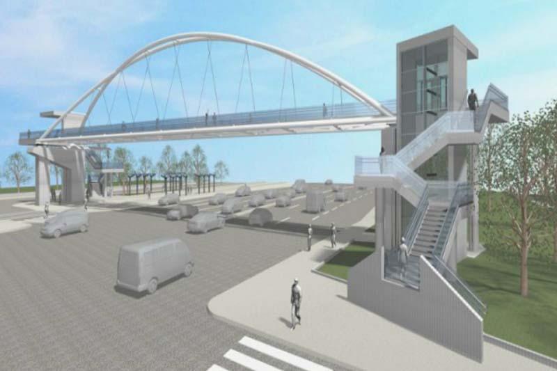 Ξεκίνησαν οι εργασίες για τις 2 πεζογέφυρες στην Παραλιακή