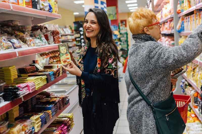 Στο σουπερμάρκετ «Μόσχα» της Καλλιθέας θα έρθεις σε επαφή με όλο τον πλούτο και την αισθητική των ρωσικών προϊόντων