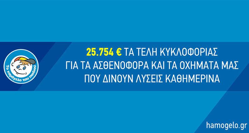 Βάζουν «Το Χαμόγελο του Παιδιού» να πληρώσει 26.000€ για τέλη κυκλοφορίας για οχήματα που βοηθούν χιλιάδες παιδιά που έχουν ανάγκη!
