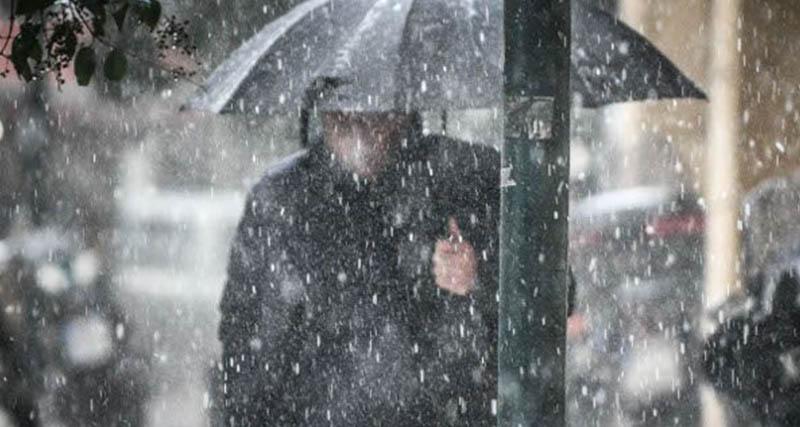 Εκτακτο δελτίο επιδείνωσης καιρού: Χιόνια στην Αθήνα, 10 μποφόρ και παγετός