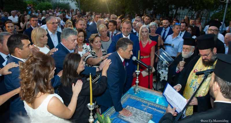 Τελετή ορκωμοσίας Δημάρχου Δημήτρη Κάρναβου και των Δημοτικών Συμβούλων του Δήμου Καλλιθέας