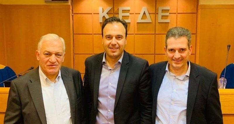 Αντιπρόεδρος της ΚΕΔΕ εκλέχθηκε ο δήμαρχος Καλλιθέας Δημήτρης Κάρναβος